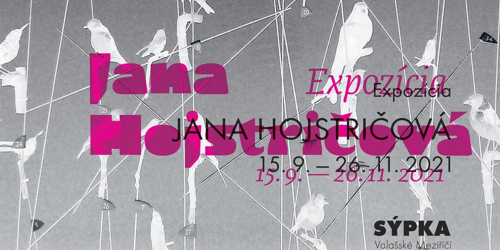 Svébytná instalace fotografických obrazů Jany Hojstričové v Galerii Sýpka ve Valašském Meziříčí.