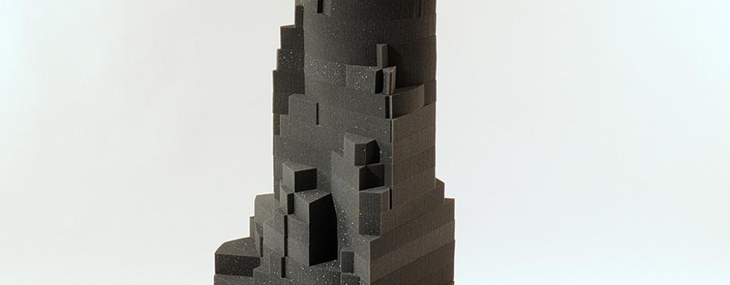 Geometrické tvarosloví v podání Josefa Mladějovského v Galerii Sýpka ve Val. Meziříčí