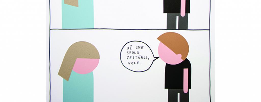 Komiksy plné života Venduly Chalánkové vystaví meziříčská Galerie Sýpka