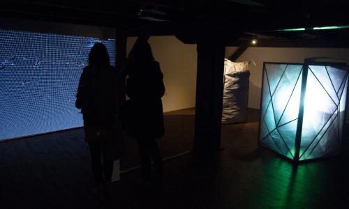 Slovenští sochaři inovativně pracují s prostorem galerie Sýpka.